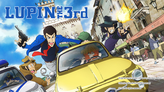 Lupin the third main title picture