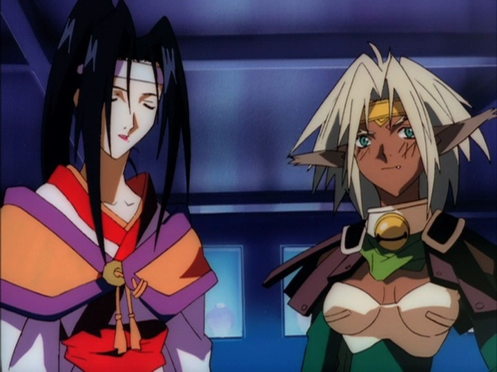 Outlaw Star female characters