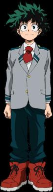 Izuku from My Hero Academia
