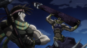 Battle Tendency: Joseph vs Waamu