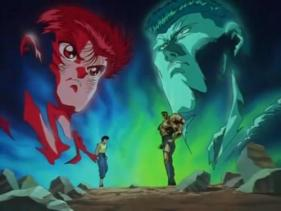 YYH: Yusuke vs Toguro