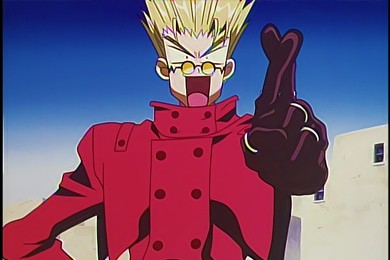 love and peace trigun