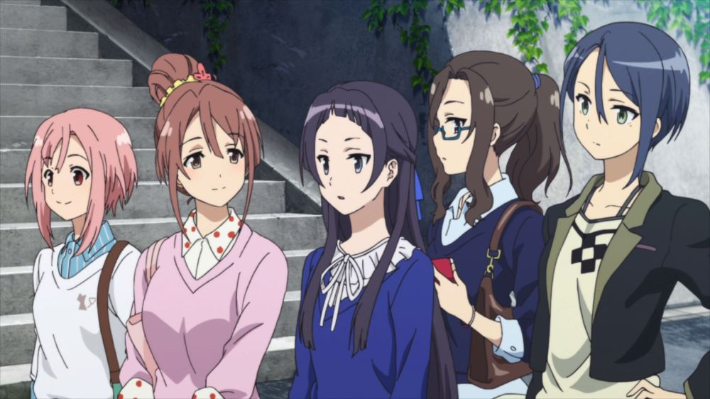 Sakura Quest girls
