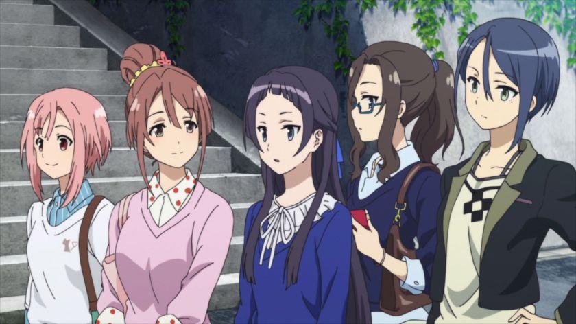 Sakura Quest girls