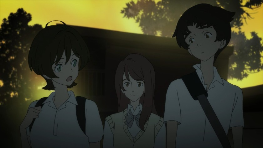 Akira with friends