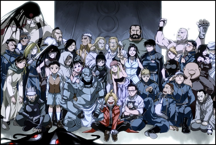 fma brotherhood cast