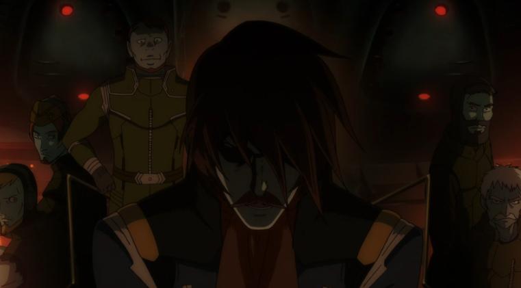 Episode 13 Space Sub Captain and Crew