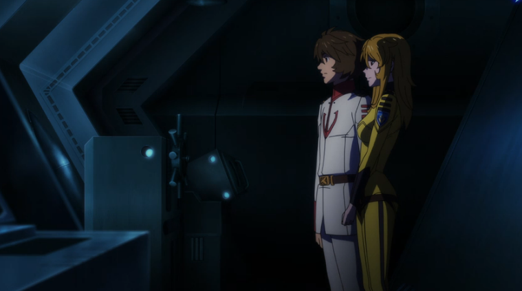 Episode 14 Kodai and Yuki Silent Moment