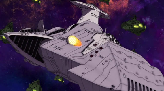 Episode 15 Gamilas Super Ship