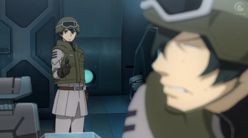 Episode 16 Hoshina saves the day