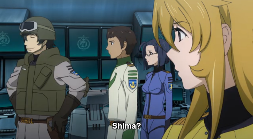 Episode 16 Shima takes charge