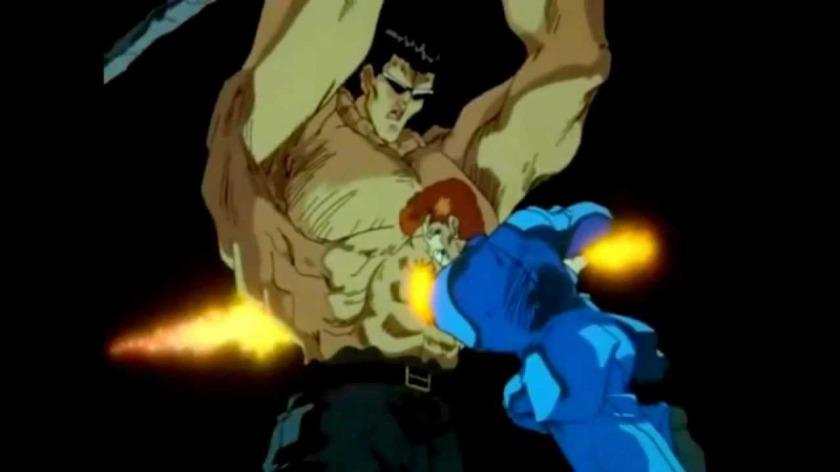 Kuwa defeats the toguro brothers