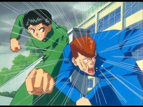 yusuke and kuwabara