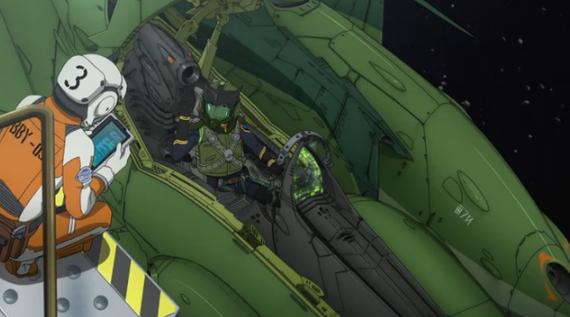 Episode 18 Shinohara Enemy Fighter