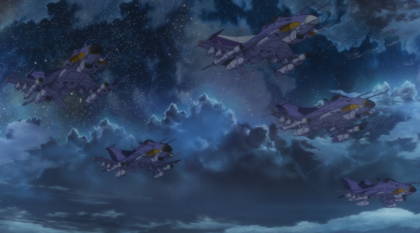Episode 20 Fighters appear out of nowhere