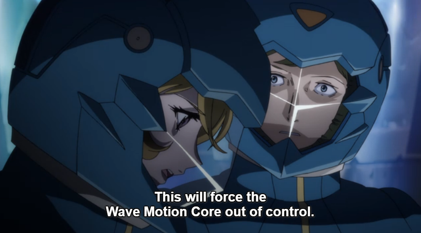 Episode 23 Wave Motion Control Destroy