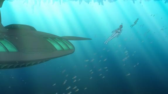 Episode 24 Akira and Melda Fanservice