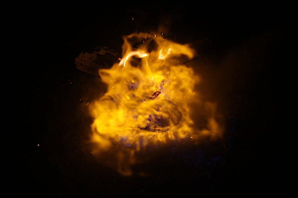 burning creature