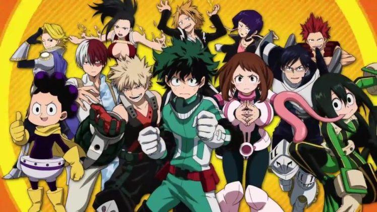 My Hero Academia poster